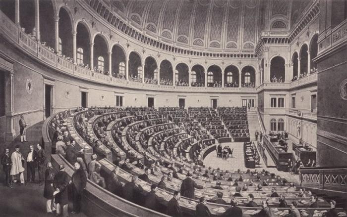 Fondo giovanni giuriati archivi privati patrimonio for Parlamento montecitorio