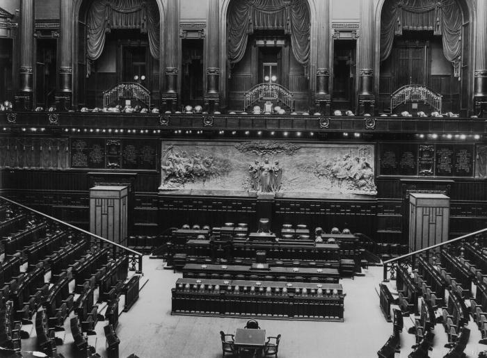 Aula for Parlamento italiano deputati