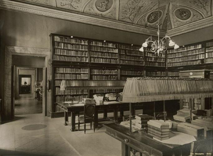Archivio della camera regia 1848 1943 patrimonio for Biblioteca camera dei deputati