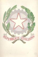 Bozzetto dell'emblema della Repubblica disegnato da Paolo Paschetto, approvato dalla Commissione speciale istituita in seno alla Costituente  ASCD, Assemblea Costituente, Incarti di segreteria, b. 136.