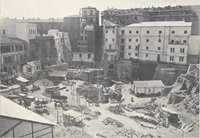 Parlamento. Il centro delle demolizioni dietro a Montecitorio