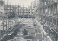 Il nuovo palazzo del Parlamento Italiano: le fondamenta dell'aula della Camera