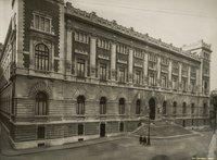 Piazza del Parlamento - Prospetto del nuovo palazzo