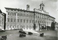 Piazza Montecitorio - Prospetto (visuale d'angolo)