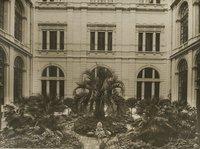 Giardino d'onore (cortile interno Palazzo Montecitorio)