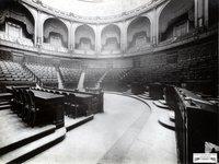 Camera dei Fasci e delle Corporazioni, prospettiva dell'Aula