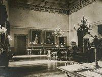 Salone di lettura al I piano del vecchio palazzo