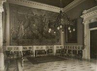 Anni '60 - Sala adiacente corridoio dei busti lato sinistro - Anticamera del Vicepresidente