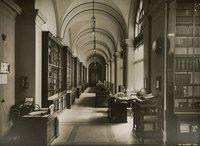Biblioteca (attuale corridoio delle Commissioni)
