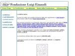 """anteprima di """"Fondazione Luigi Einaudi"""""""