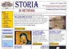 """anteprima di """"Storia in network - Rivista di ricerche per professori, studenti ed appassionati di viaggi nel passato"""""""