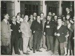 Rancio speciale offerto ad Angelo Manaresi, Sottosegretario al Ministero della Guerra. Roma, Grotte del Piccione