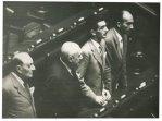Almirante, Mieville ed altri parlamentari a Montecitorio