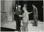 Il presidente della Camera dei Deputati Giovanni Leone riceve l'ambasciatore del Brasile a Roma