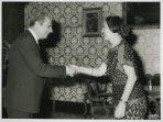 Il Presidente della Camera dei Deputati Nilde Iotti riceve il dottor Tullio Ancora