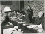 Il Presidente della Camera dei Deputati Nilde Iotti riceve componenti del Comitato PACE