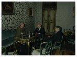 Il Presidente della Camera dei Deputati Giorgio Napolitano riceve il Capo di Stato Maggiore dell'esercito Domenico Corcione