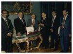 Il Vicepresidente della Camera dei Deputati Mario D'Acquisto riceve una delegazione del Kuwait