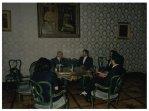 Il Presidente della Camera dei Deputati Giorgio Napolitano riceve l'ambasciatore iraniano