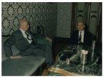 Il Presidente della Camera dei Deputati Giorgio Napolitano incontra il Presidente della Corte di Cassazione Aldo Corasaniti