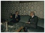 Il Presidente della Camera dei Deputati Giorgio Napolitano riceve il Presidente del Consiglio Giuliano Amato