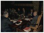 Il Presidente della Camera dei Deputati Giorgio Napolitano incontra una rappresentanza della stampa parlamentare