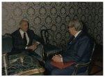Il Presidente della Camera dei Deputati Giorgio Napolitano incontra Francesco Saja