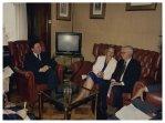 Il Presidente della Commissione Speciale per le Politiche Comunitarie Carlo Fracanzani incontra Bruce Millen Responsabile delle politiche comunitarie della CEE