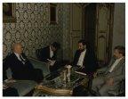 Il Presidente della Camera dei deputati Giorgio Napolitano riceve il Ministro degli esteri iraniano Ali Akbar Velayati