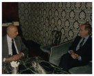 Il Presidente della Camera dei Deputati Giorgio Napolitano incontra il nuovo Ambasciatore del Canada Marchand de Montigny