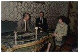 Il Presidente della Camera dei Deputati Irene Pivetti riceve l'Ambasciatore USA Reginald Bartholomew