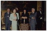Saluto ai due Segretari Generali della Camera dei Deputati: Donato Marra e Silvio Traversa
