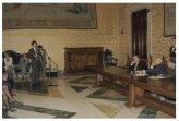 Il Vicepresidente della Camera dei Deputati Lorenzo Acquarone riceve gli Alfieri del lavoro