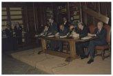"""Presentazione del libro di Giorgio Napolitano """"Dove va la Repubblica"""", presente il Presidente della Repubblica Oscar Luigi Scalfaro"""