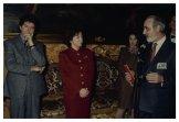 Auguri di fine anno della Stampa Parlamentare al Presidente della Camera dei Deputati Irene Pivetti