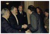 Il Presidente della Camera dei Deputati Irene Pivetti incontra il Presidente dell'Assemblea parlamentare del Consiglio d'Europa Miguel Angel Martínez Martínez
