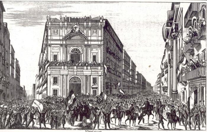 Archivio del parlamento napoletano 1848 1849 for Camera dei deputati archivio storico