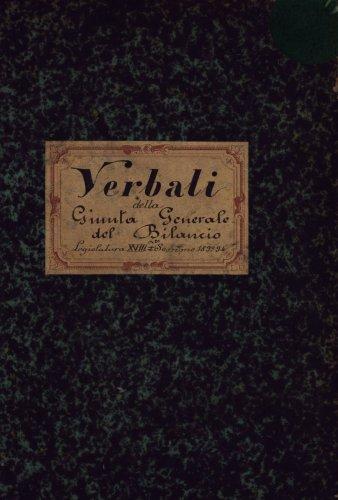 Giunte e sottogiunte del bilancio 1849 1938 archivio for Camera dei deputati archivio storico