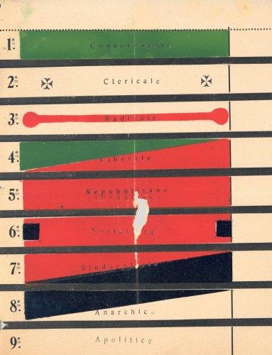 Prototipo per una scheda elettorale, s.d. [1912]