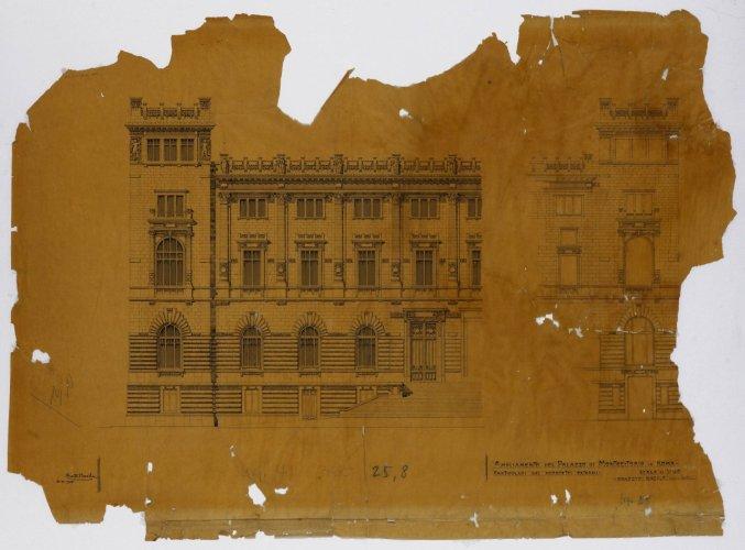 Fondo ernesto basile architettura d 39 archivio for Camera dei deputati archivio storico
