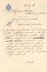 Archivio della camera regia 1848 1943 patrimonio for Camera dei deputati ordine del giorno
