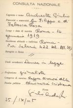 Consulta - Andreotti