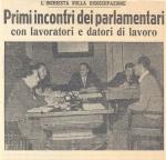I lavori della Commissione d'inchiesta sulla disoccupazione visti dai giornali dell'epoca (1952-1953)