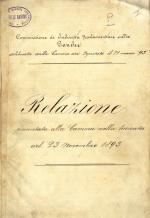 Relazione di Gustavo Biagini e Giacomo Giuseppe Avisi sulle condizione della Banca Romana (PDF 6.2 MB)